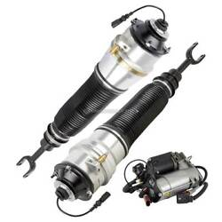 For Audi A8 Quattro And S8 Pair Arnott Front Air Struts W/ Compressor Tcp