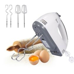 Electric Hand Mixer Egg Beater 7-speed Easy Mix Good Grips Cake Mixer Ultra