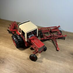 Vintage 1/16 International 1586 Farm Toy Tractor Duals Cab Ertl Diecast And More