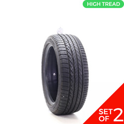 Set Of 2 Used 215/45r17 Dunlop Conquest Sport A/s 91w - 9.5/32