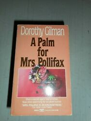 A Palm for Mrs. Pollifax by Dorothy Gilman 1988 Mass Market Paperback DD5911