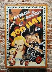 Ralph Massey -ginger Rogers And Fred Astaire Top Hat - Painting