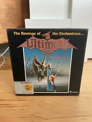 Ultima Iithe Revenge Of The Enchantress Rare Pc-9801 Complete W/ Cloth Map