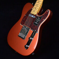 Fender Player Plus Telecaster Aged Candy Apple Red Safe Shipping From Japan