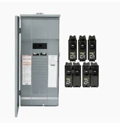 Square D 200 Amp 30-space 60-circuit Outdoor Main Breaker Panel Box Load Center