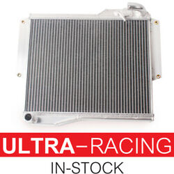 3 Rows Aluminum Radiator For 1977-1980 1978 1979 Mg Mgb Gt/roadster 1.8l Engine