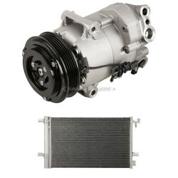 For Chevrolet Cruze 2012-2015 Oem Ac Compressor W/ A/c Condenser And Drier Tcp