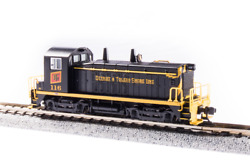 Broadway Limited 3934 N Scale Emd Sw7, Sound/dc/dcc, Dts 116