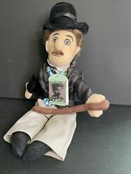 Nwt In Original Bag Charlie Chaplin Collectible Plush Toy Little Thinkers Doll