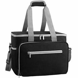 DYD Collapsible Cooler Bag Insulated 24 48 Can Soft Sided Beach Cooler Lightw... $37.61