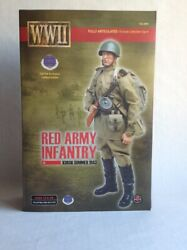 Action Figure 1/6 Soldier Story Red Army Infantry Kursk 1943 Cal-tek Exclusiv Fv