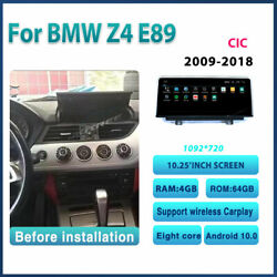 10.25 Inch Android Car Radio For Bmw Z4 E89 2009-2018 64g Camera