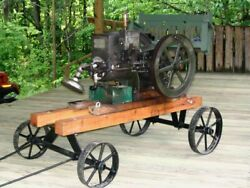 Hit And Miss Engine 1.5 Hp Antique Runs Pick Up Only In Bloomington Indiana