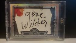 Gene Wilder 1/1 2020 Topps Sterling Cut Signature Card Willy Wonka Auto Card