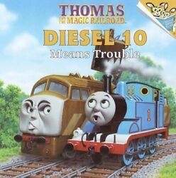 Thomas And Magic Railroad Diesel 10 Means Trouble By Random House Mint