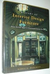 History Of Interior Design And Furniture From Ancient By Robbie G. Blakemore