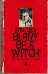 Diary Of A Witch Private Life Of One Of World's Most By Sybil Leek
