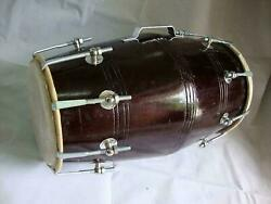 Traditional Indian Musical Instrument Musical Rope Dholak/dholki With Case Cover