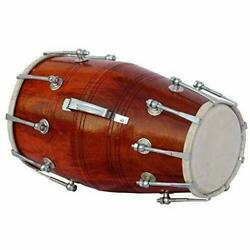 Dholak Saddle Quality Wood Carry Bag Gestimmte - Wedding Dholki With Case Cover