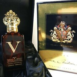 Unique Perfume. Clive Christian V For Women 50ml. Signed By Victoria Christian.