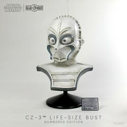 Regal Robot Cz-3 Life-size Bust Prop Replica Edition 50 Sold Out Not Sideshow