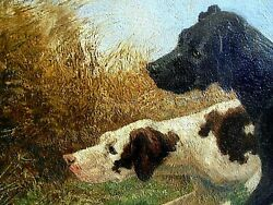 Nelson Gray Kinsley 1863 - 1945 Hunting Dogs Pointing Quail