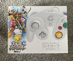 Nintendo Gamecube Controller For Wii Super Smash Bros Edition White Box Only