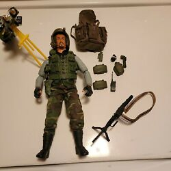 12 Inch Gi Joe Action Figures With Lots Of Gear N Weapons