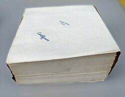 Stack Of Vintage 1940and039s Good Humor Paper Ice Cream Napkin