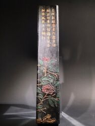 Chinese Ink Stick Ink Calligraphy Writing Flower Ink Stick