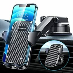 [2021 Upgraded] Vanmass Car Dashboard Cell Phone Holder Mount [super Suction Cup
