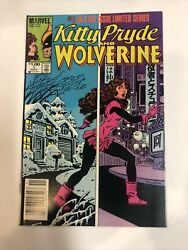 Kitty Pryde And Wolverine 1984 1 Nm | Canadian Price Variant Cpv |