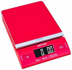 Accuteck Dreamred 86 Lbs Digital Postal Scale Shipping Scale Postage With Usbandac