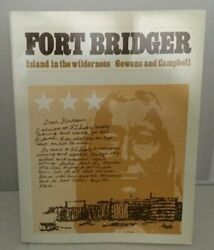 Fort Bridger Island In Wilderness By Fred R. Gowans And Eugene E. Campbell Mint