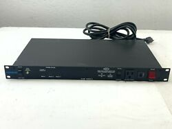 Used Furman Ps-8r Series Ii 8-outlet Power Conditioner