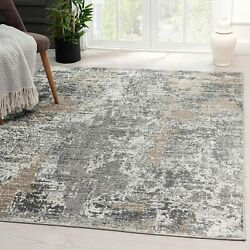 Living Room Area Rugs Contemporary Grey Abstract Carpet Large Best Quality Rugs