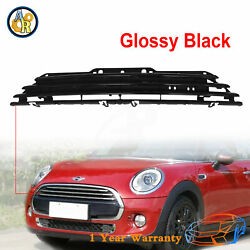 Hood Molding Grille Grill Glossy Black For 2011-2015 Mini Cooper Mc1200103c