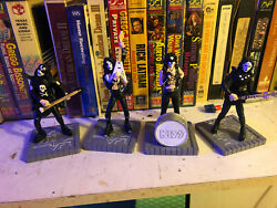 Kiss Collectible Peter Criss Gene Paul Stanley Ace Statue 6 Inch New