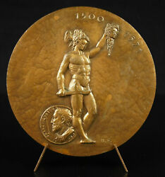 Medal Benvenuto Cellini Statue Of Perseus Holding The Head Of Medusa 1970 Medal