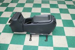 99-02 Gm Truck Dark Gray Floor Console Trim Panel A/c Vents Cover Armrest