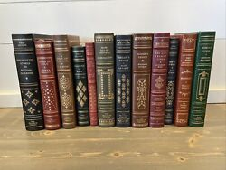 Franklin Library The First Edition Society Lot Of 12 Books Leather Bound