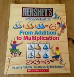 From Addition To Multiplication Hershey's Chocolate Math By Jerry Pallotta New