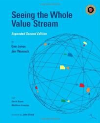 Seeing Whole Value Stream By Dan Jones And Jim Womack Excellent Condition