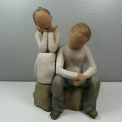 Willow Tree Figure Brother And Sister 2007 Demdaco Susan Lordi