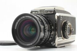 Late Model 【near Mint 】 Zenza Bronica C2 + Nikkor O C 50mm F/2.8 From Japan 712