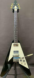 Gibson 1967 Flying V Maestro 100487 Electric Guitar W/h/c Ships Safely From Jp