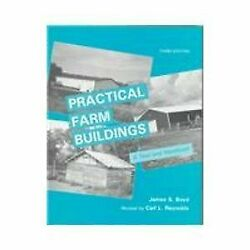 Practical Farm Buildings A Text And Handbook By James S. Boyd - Hardcover Vg+
