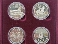 Us Olympic Coins Of The Atlantic Centennial Olympic Games Proof Coin Set