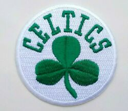 Boston Celtics Embroidered 2 3 4quot; Iron On Patch