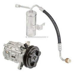 For Saturn Sl Sc And Sw 1997 1998 Oem Dcv11g Ac Compressor W/ A/c Drier Tcp